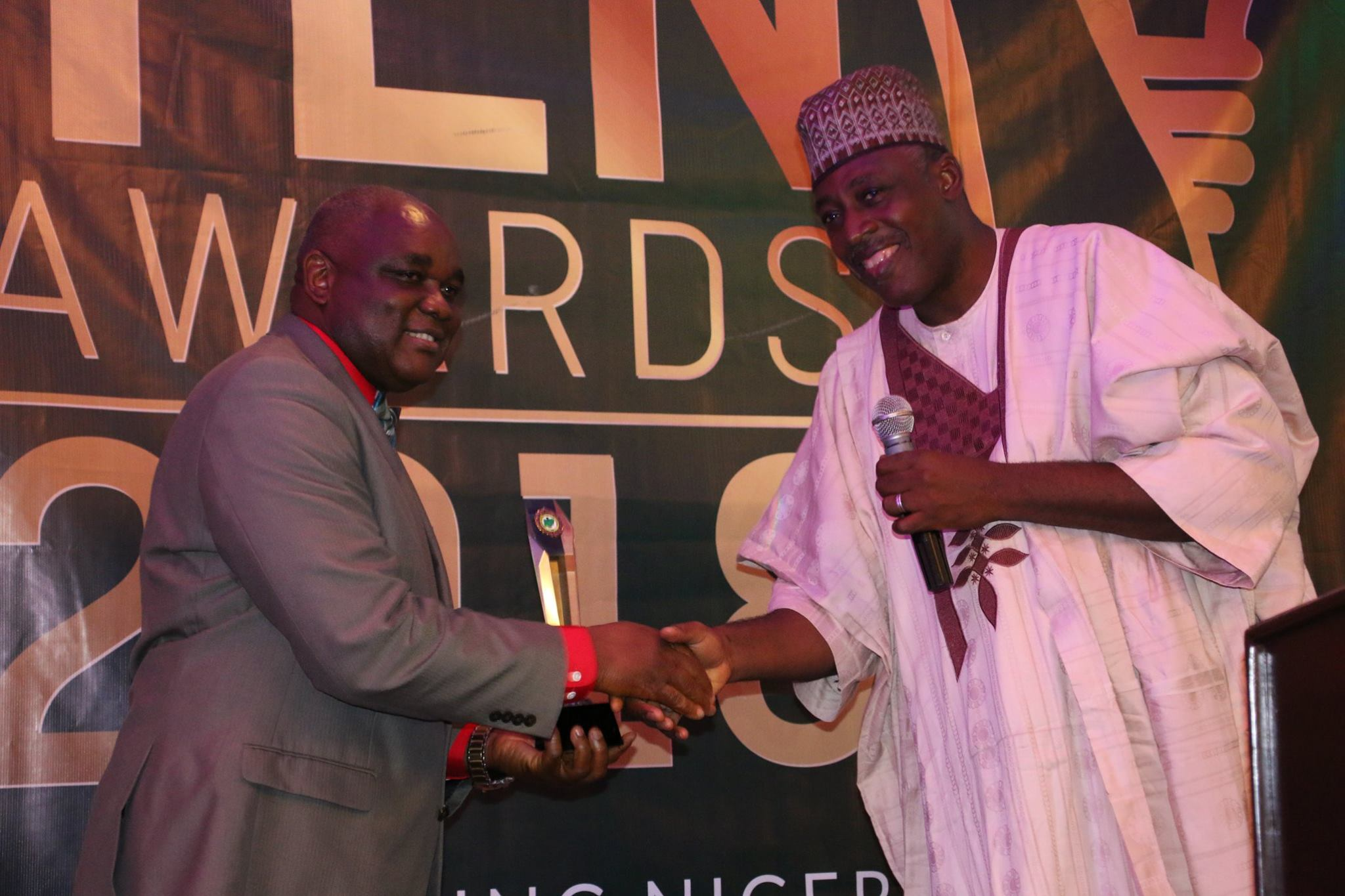 The Executive Vice Chairman/CEO Of NCC Receives the YEN Award