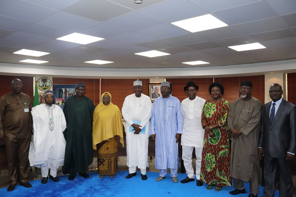 Again NCC, INEC meet over 2019 elections - INEC Chairman commends NCC for rising to challenge