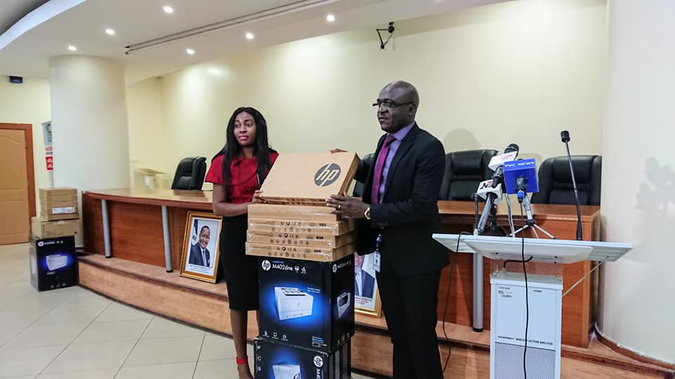 NCC Donates ICT Equipment to Nigerian Institute of Technology and Environmental Studies, Makurdi