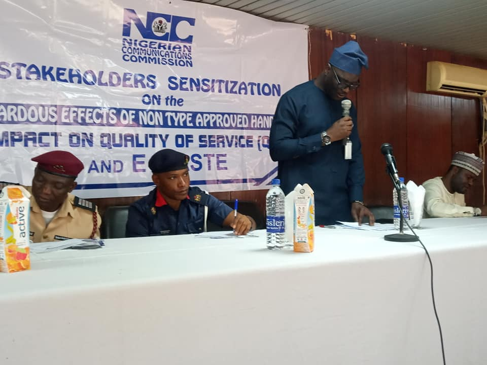 NCC takes consumer awareness on dangers of fake phones to Ilorin