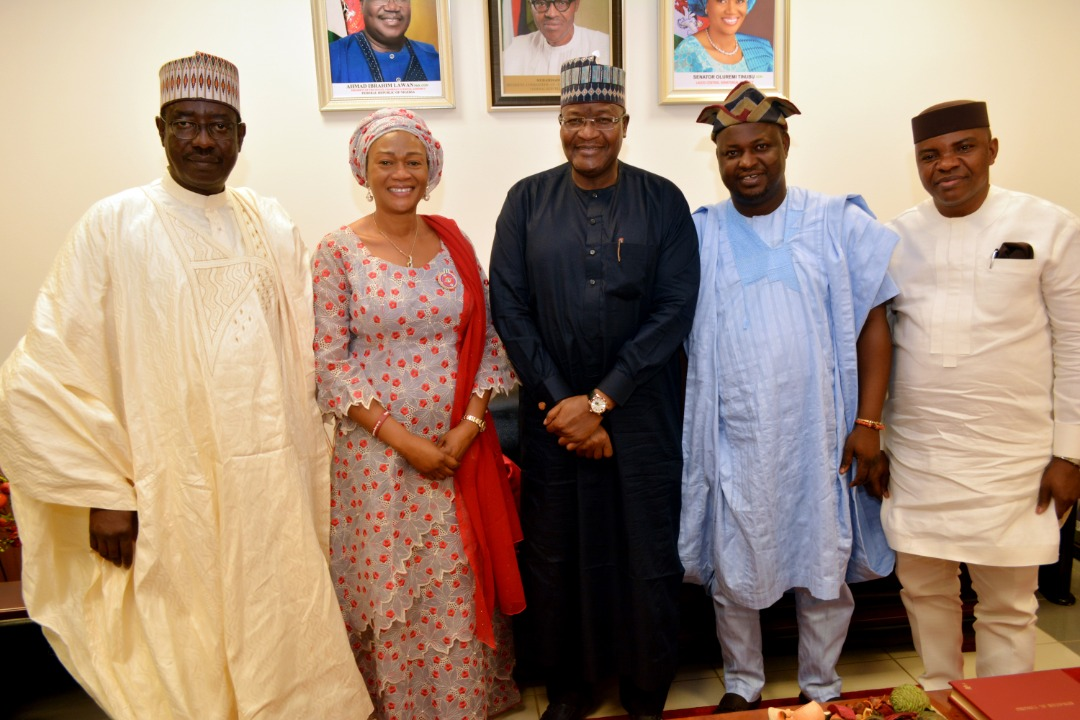 PHOTO NEWS: NCC Visits NASS Committees on Communications